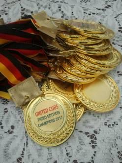 1e plaats medailles