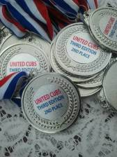 2e plaats medailles