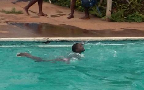 zwemmen als recreatie